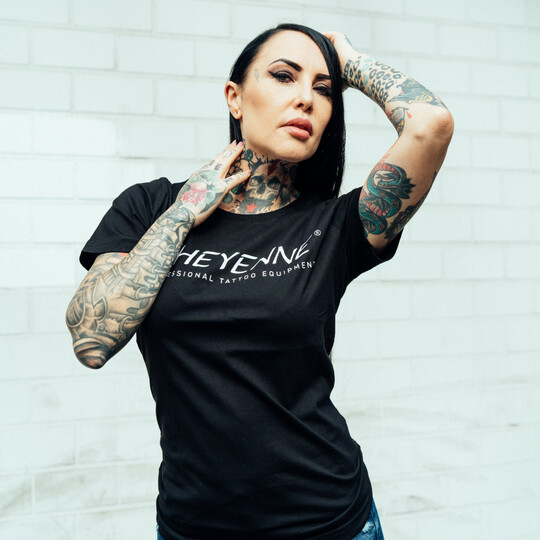 T-Shirt Women With Print & Crew Neck image number null